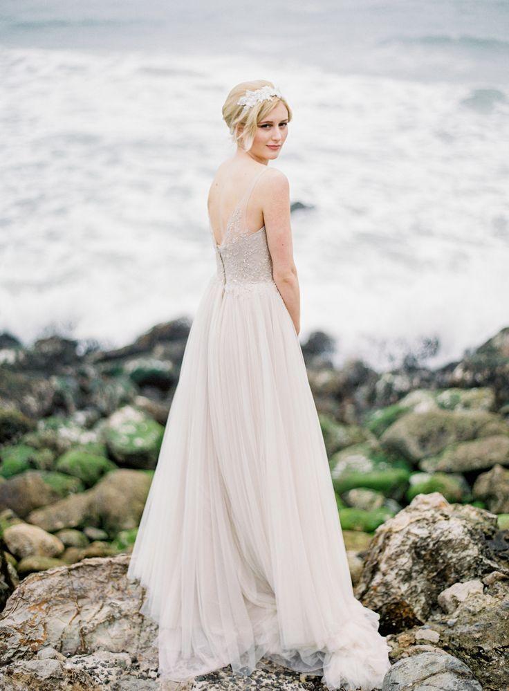 Beach Wedding Dresses Ideas Bridal Fashions Pinterest Pink
