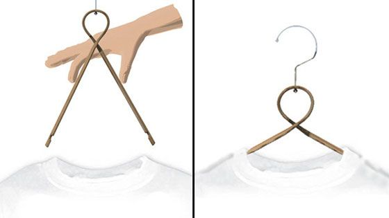 5 Cool And Innovative Clothes Hanger Designs 옷걸이 제품 디자인