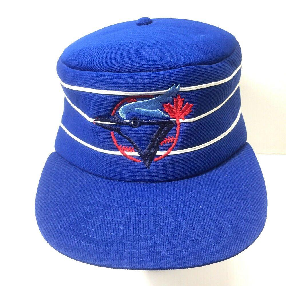 Toronto Blue Jays MLB Retro Throw Back Pillbox Hat Snapback