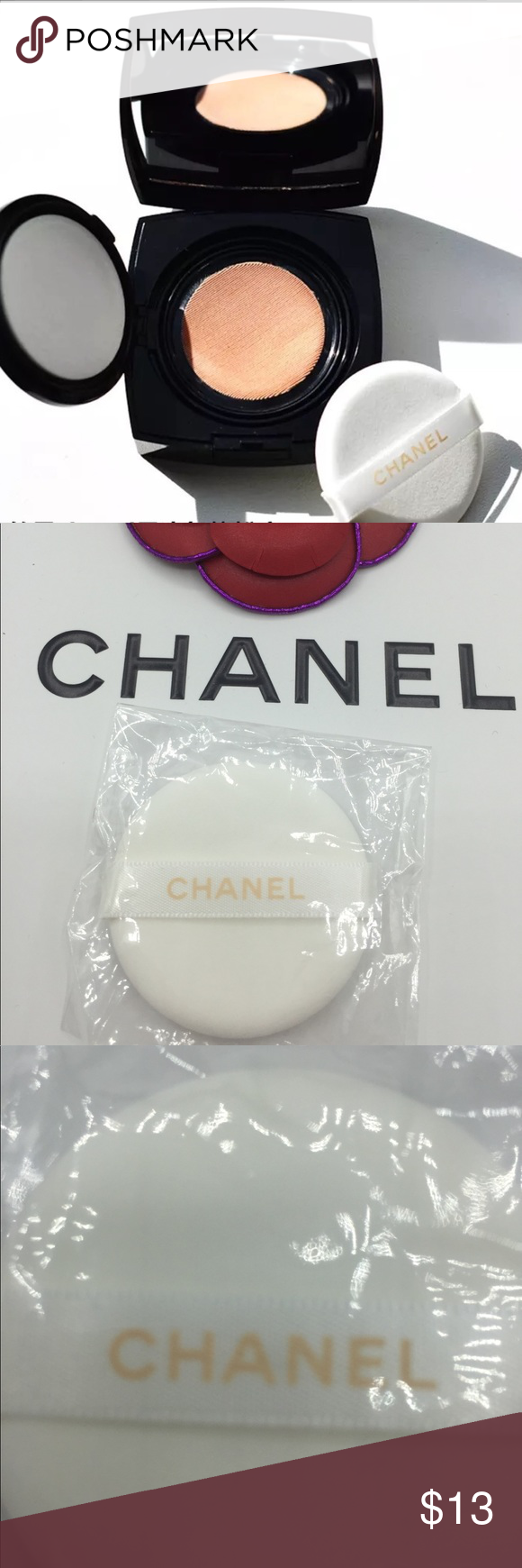 Chanel Gel Touch foundation sponge Brand new CHANEL Makeup