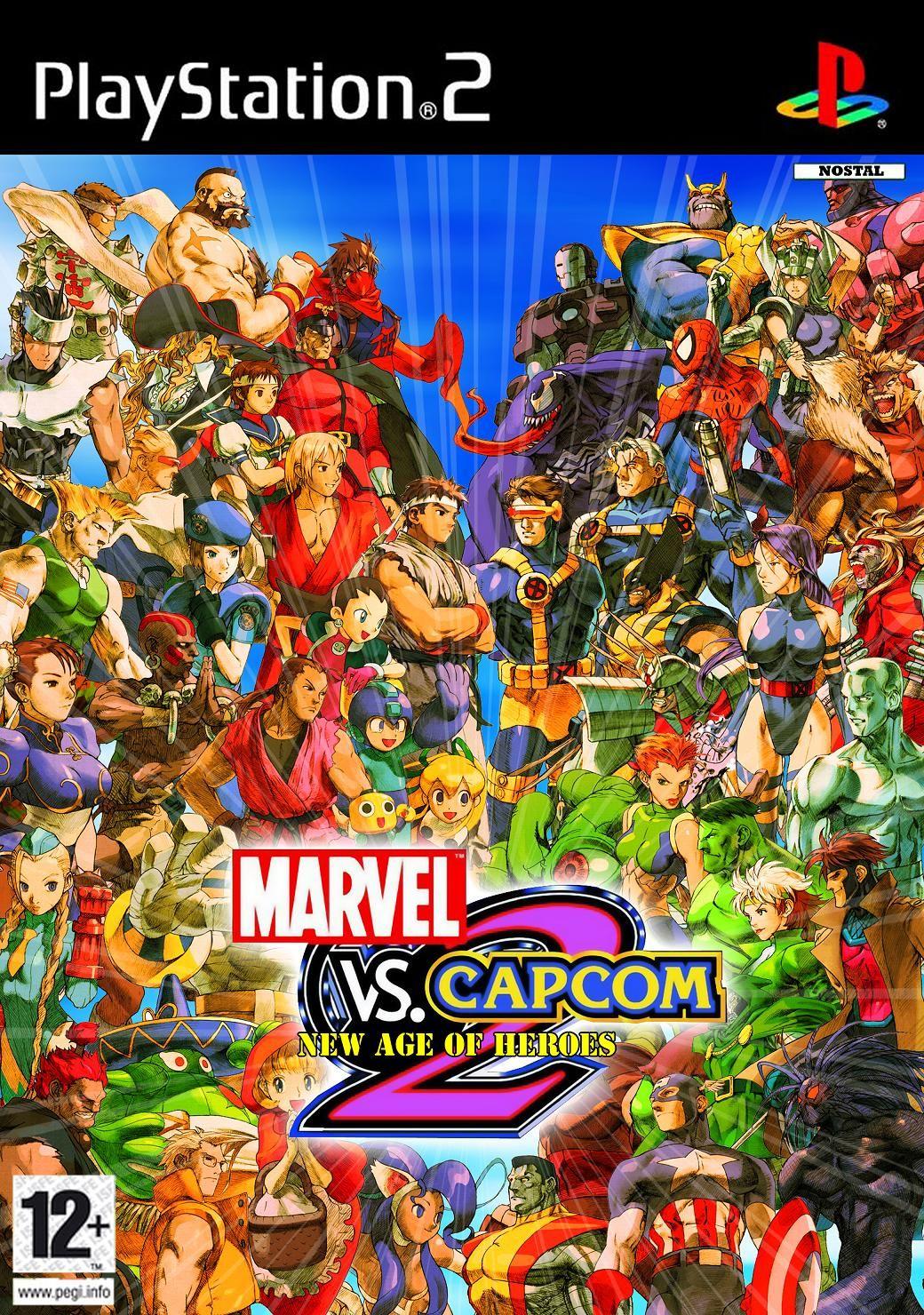 Marvel Vs Capcom 2 N Coverart By Nostal Deviantart Com On