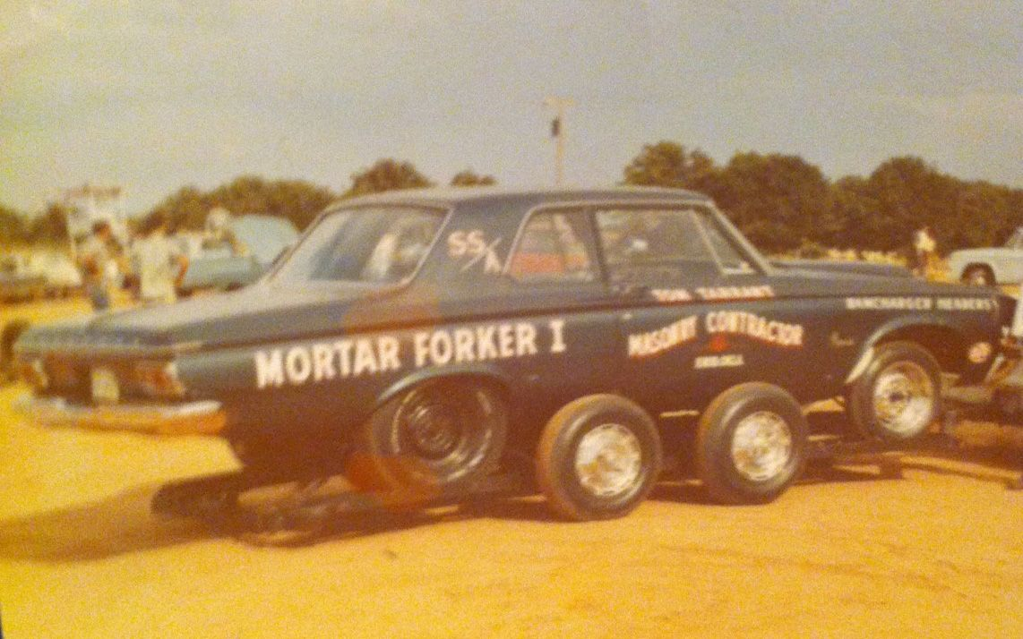 1964 plymouth factory aluminum max wedge mortar forker