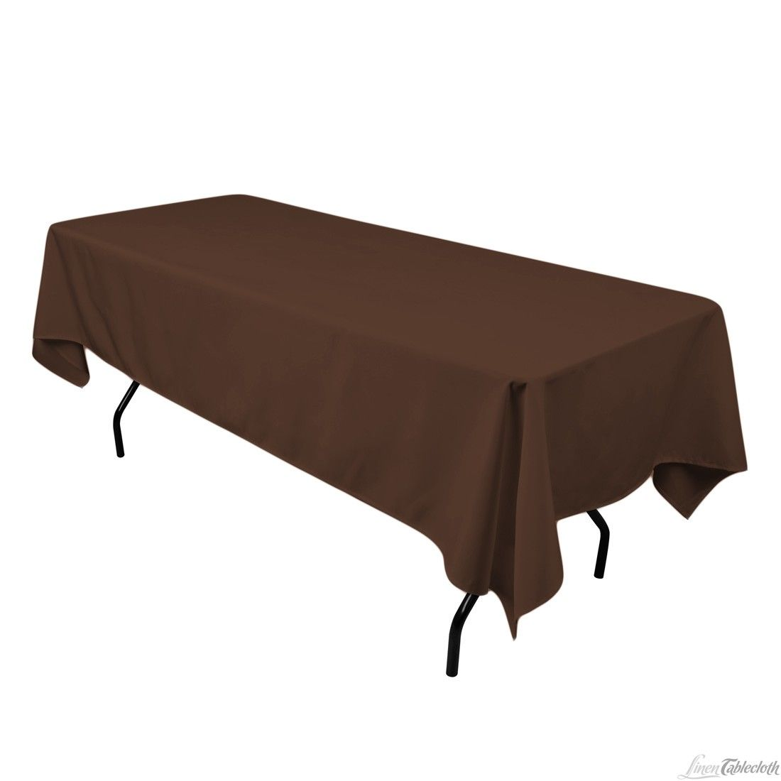 60 In By 102 In Rectangular Tablecloth On 6 Ft Rectangular