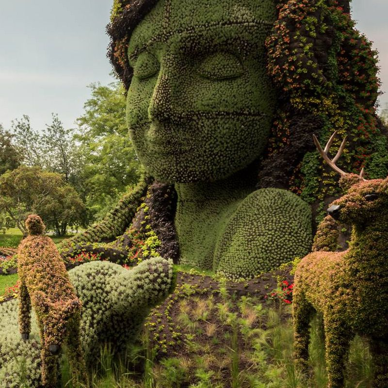 Monumental Plant Sculptures At The 2013 Mosaicultures Internationales De  Montreal | Gardens, Canada And Sculpture