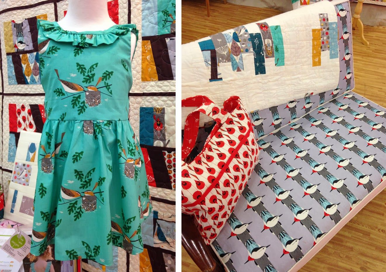 birch fabric projects - Google Search