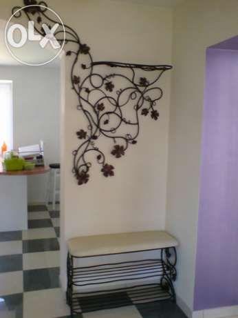 Meble Kute Wieszak Szafka Polka Na Buty Garderoba Metaloplastyka Home Decor Decals Home Decor