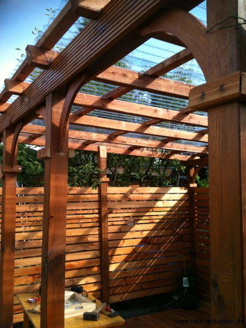 Auf einen Blick Mediterranen Patio-Garten anlegen (DIY) holz - garten terrasse holz anlegen