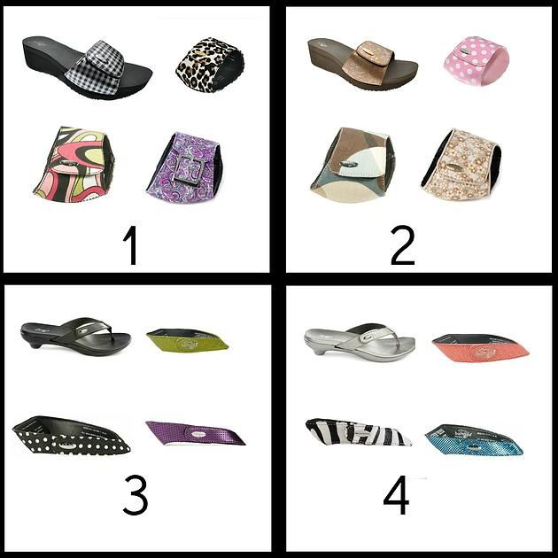 3d807cd4111 Bandals Footwear. Interchangeable shoes... genius! One shoe with four  styles!