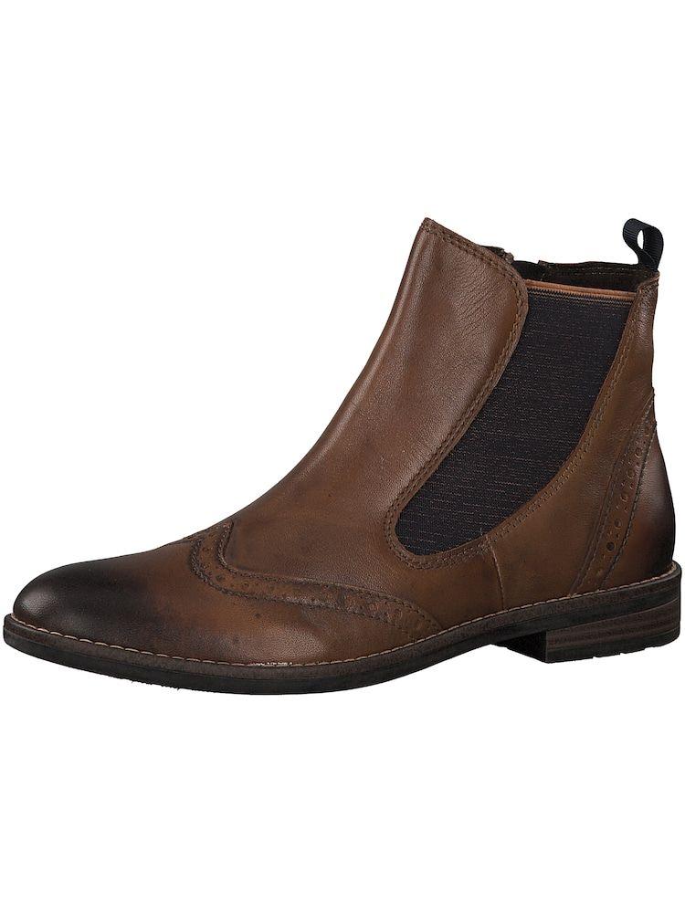 MARCO TOZZI Chelsea Boots Damen, Braun, Größe 36   Marco