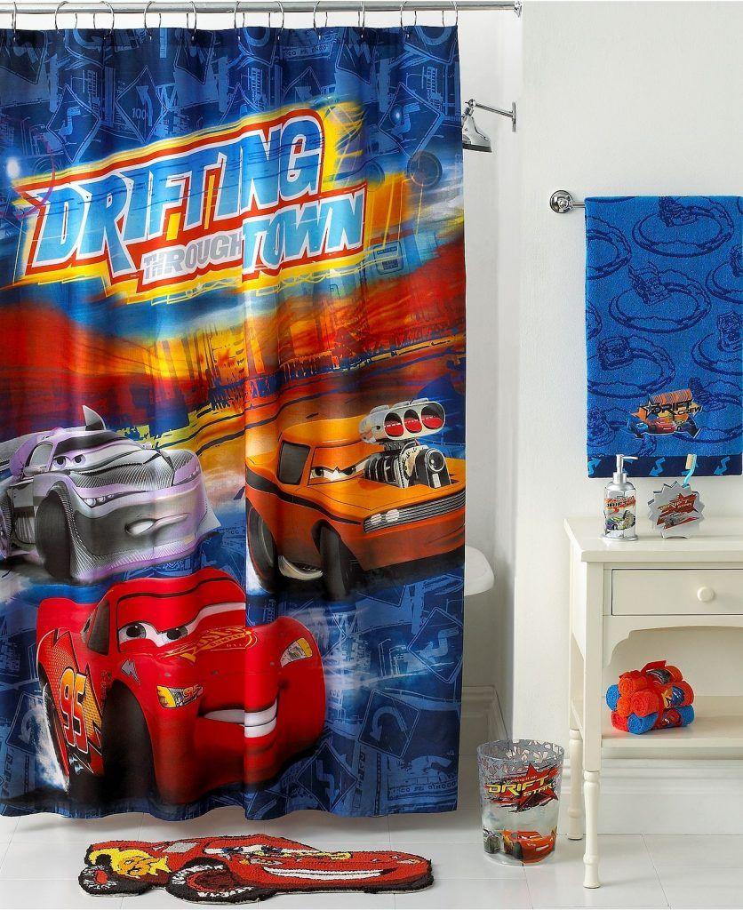 Lightning Mcqueen Shower Curtain Hooks