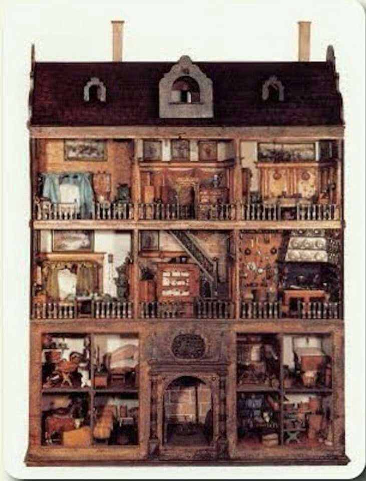 One Of The Oldest Existing Dollhouses Known As The Stormer House