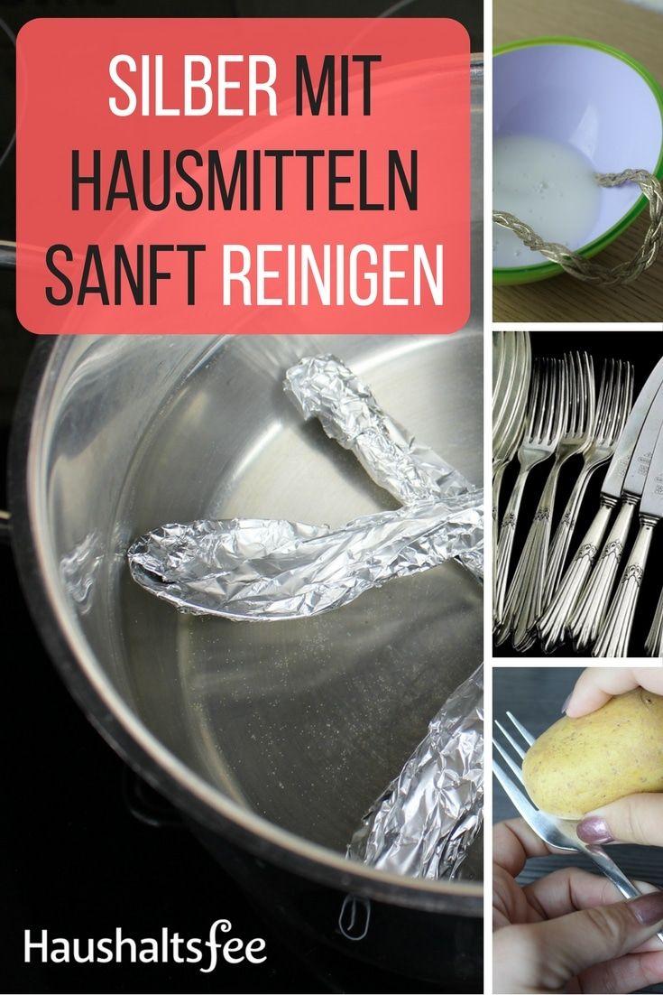 Silberbesteck Putzen silber mit hausmitteln reinigen beste tipps