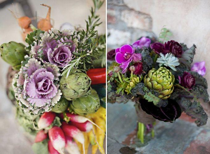 Slubna Awangarda Czyli Bukiety Z Owocow I Warzyw Kwiaty Wnetwesele Pl Floral Wreath Floral Bouquet