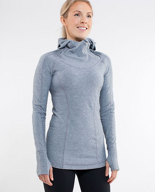 b08a98ed016fbe Lululemon Back on Track Pullover - love the funnel neck hood and all the  nifty details