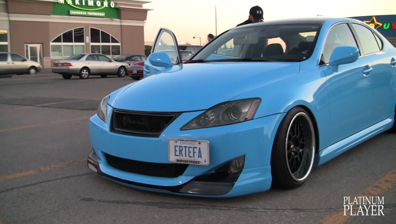 ERTEFA LEXUS IS250 on WORK WHEELS VSXX TORONTO http