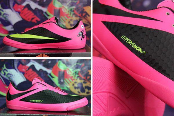 Sepatu Futsal Nike Hypervenom Hitam Pink Lite Rp 130 000 Pin Bb