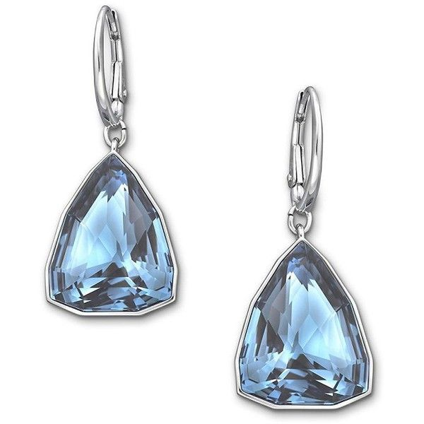 Swarovski Virtuous Crystal Earrings 89 Liked On Polyvore Featuring Jewelry