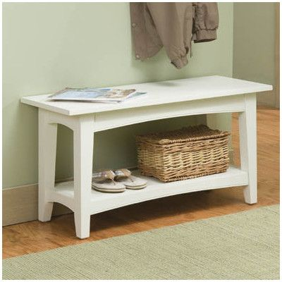 Alaterre Shaker Cottage Bench Table | Wayfair