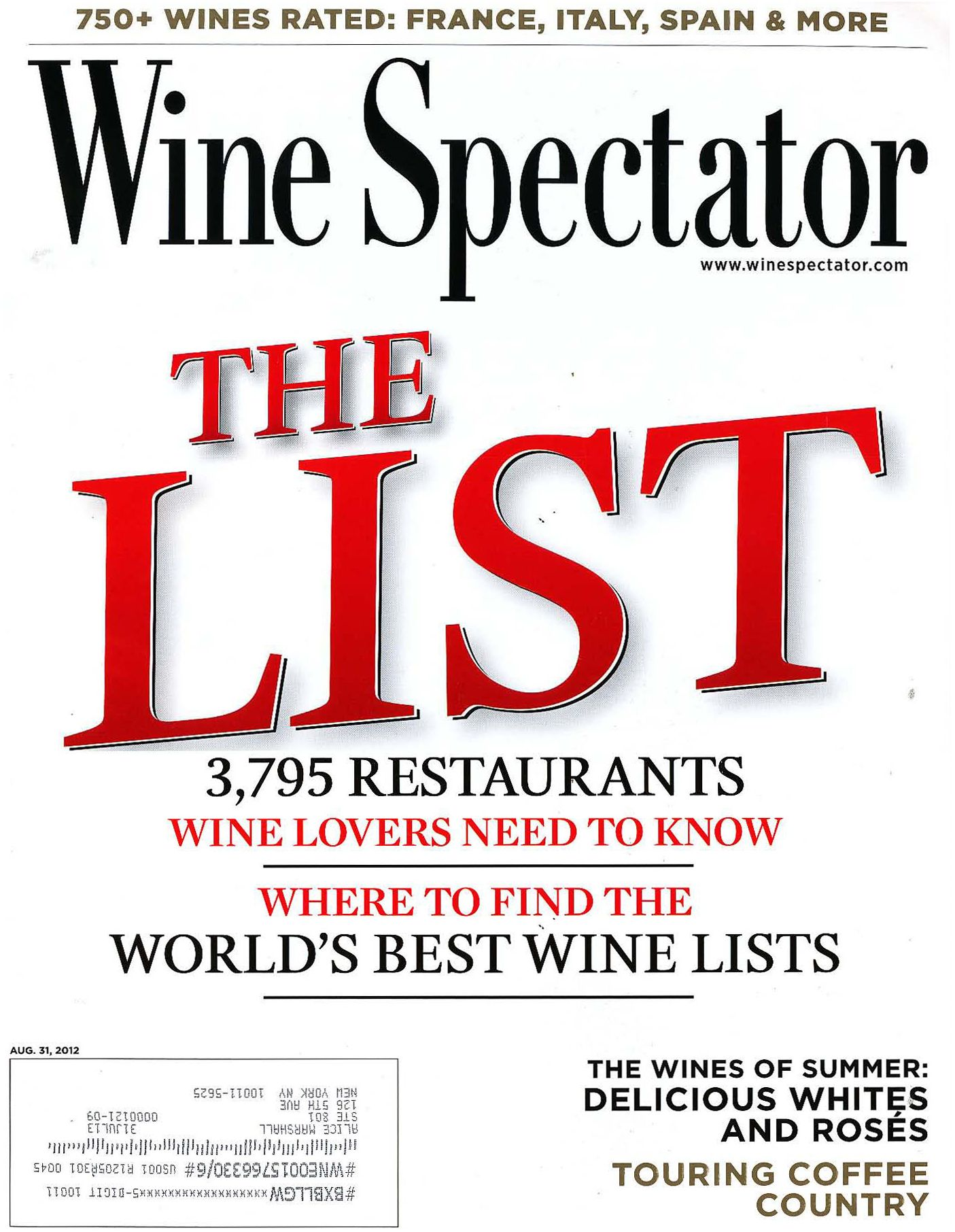 Topper S At The Wauwinet Has Won Wine Spectator S Grand Award For Its Outstanding Wine List For 16 Consecu Wine Spectator Wine List Wine Food Pairing