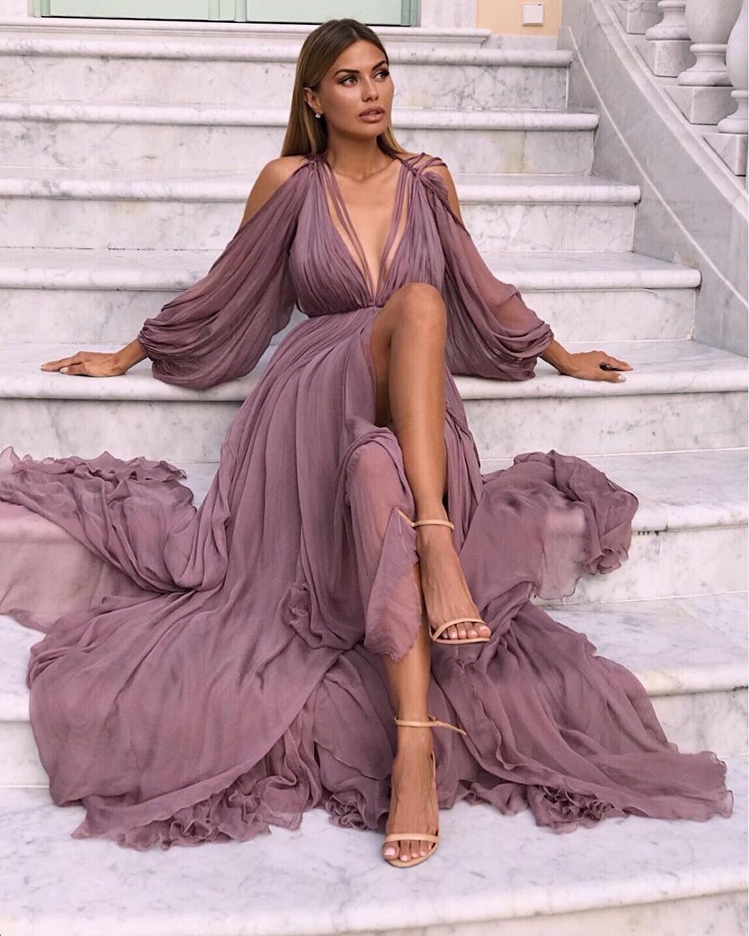 "ca25f8335e96 Loving Haute Couture on Instagram  ""Flowy dresses  1"