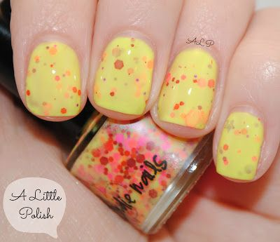 A Little Polish: Jindie Nails - Princess Consuela Banana Hammock