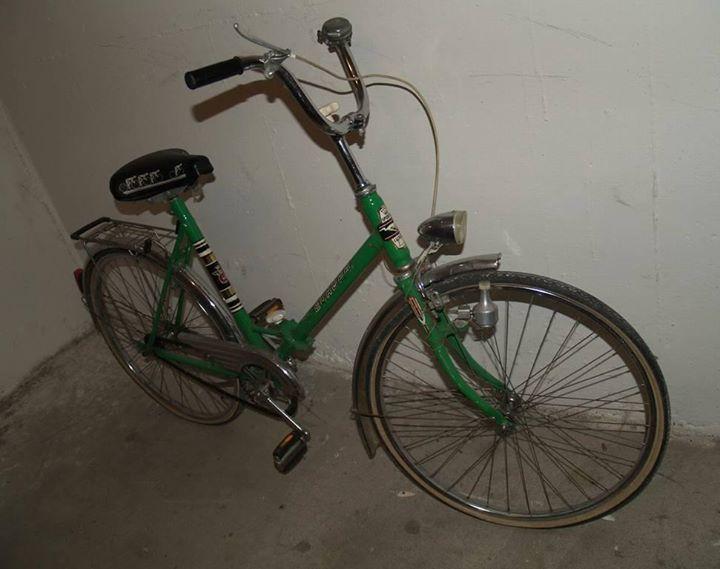 Folding Bike Mine Was Blue Erinnerungen Kindheitserinnerungen
