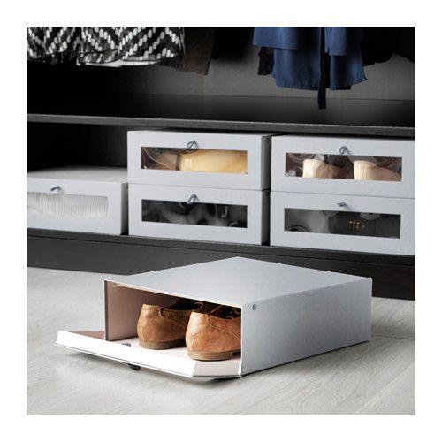 Hyfs caja para zapatos ikea vestidor pinterest for Cajas almacenamiento ikea
