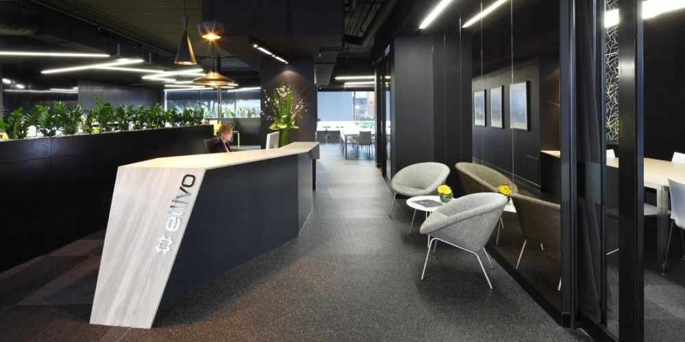 Ellivo Architects Office, Fortitude Valley #reception