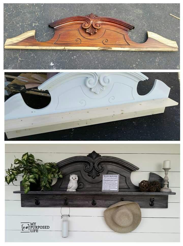 making diy pinterest corniche vielle et armoires. Black Bedroom Furniture Sets. Home Design Ideas