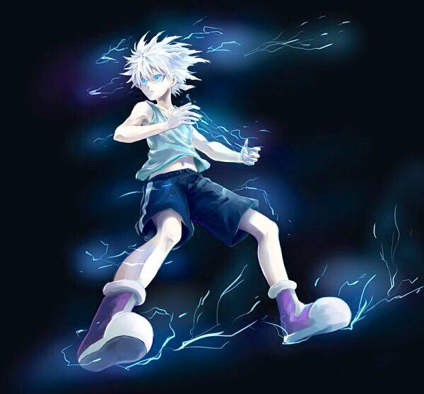 Killua Godspeed Killua, Hunter x hunter, Anime