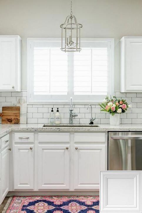 White Kitchen Backsplash Options Whitekitchens And
