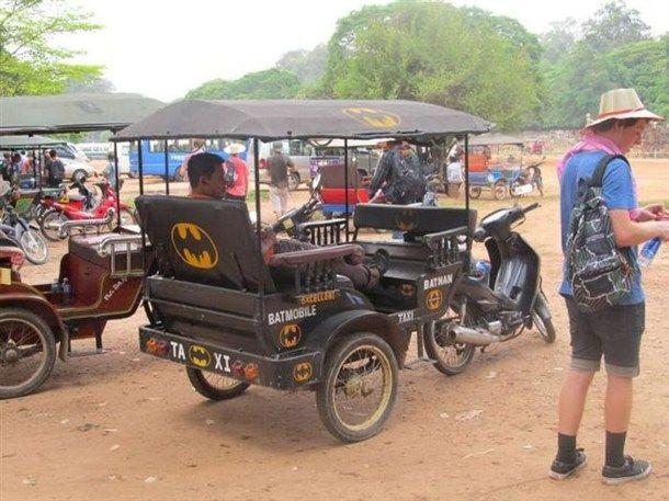 Bat rickshaw