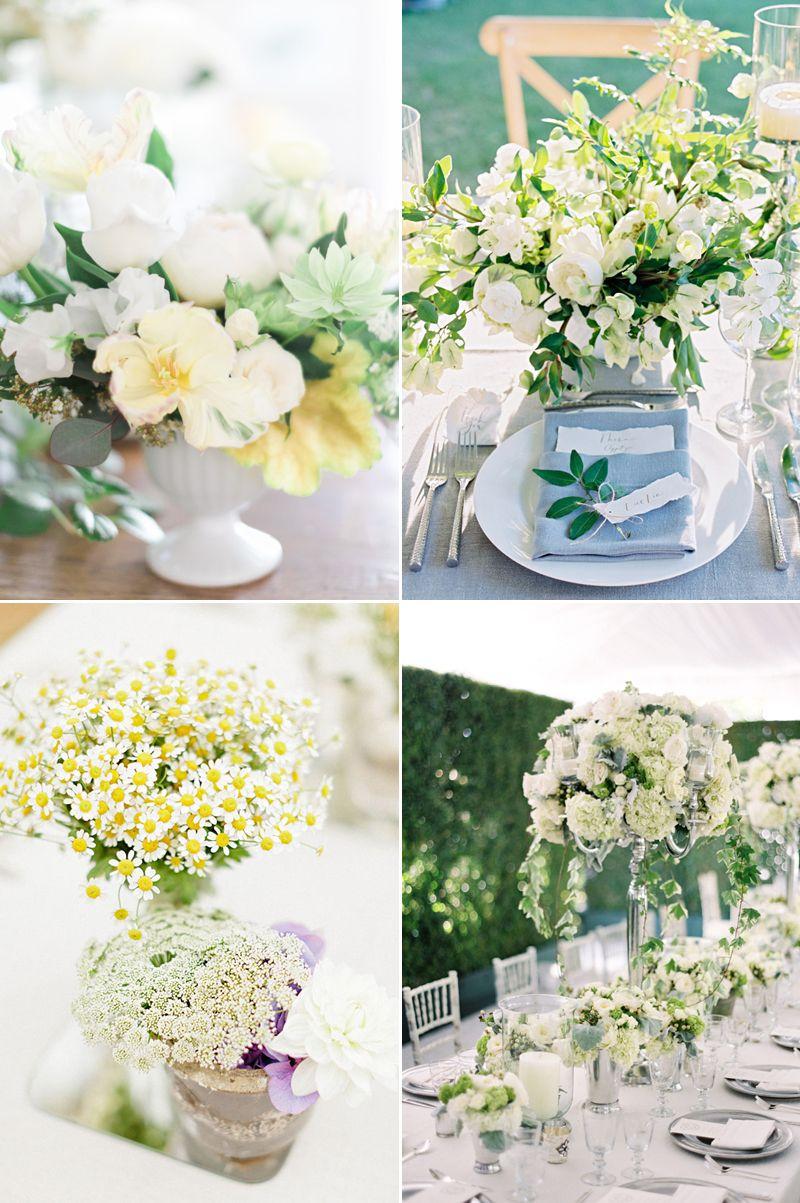 22 Romantic Fresh Flower Centerpiece Ideas For Spring Weddings ...