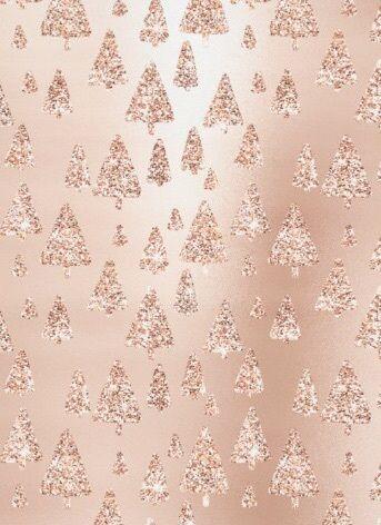 Rose Gold Christmas Wallpaper Discovered By Samantha Serena