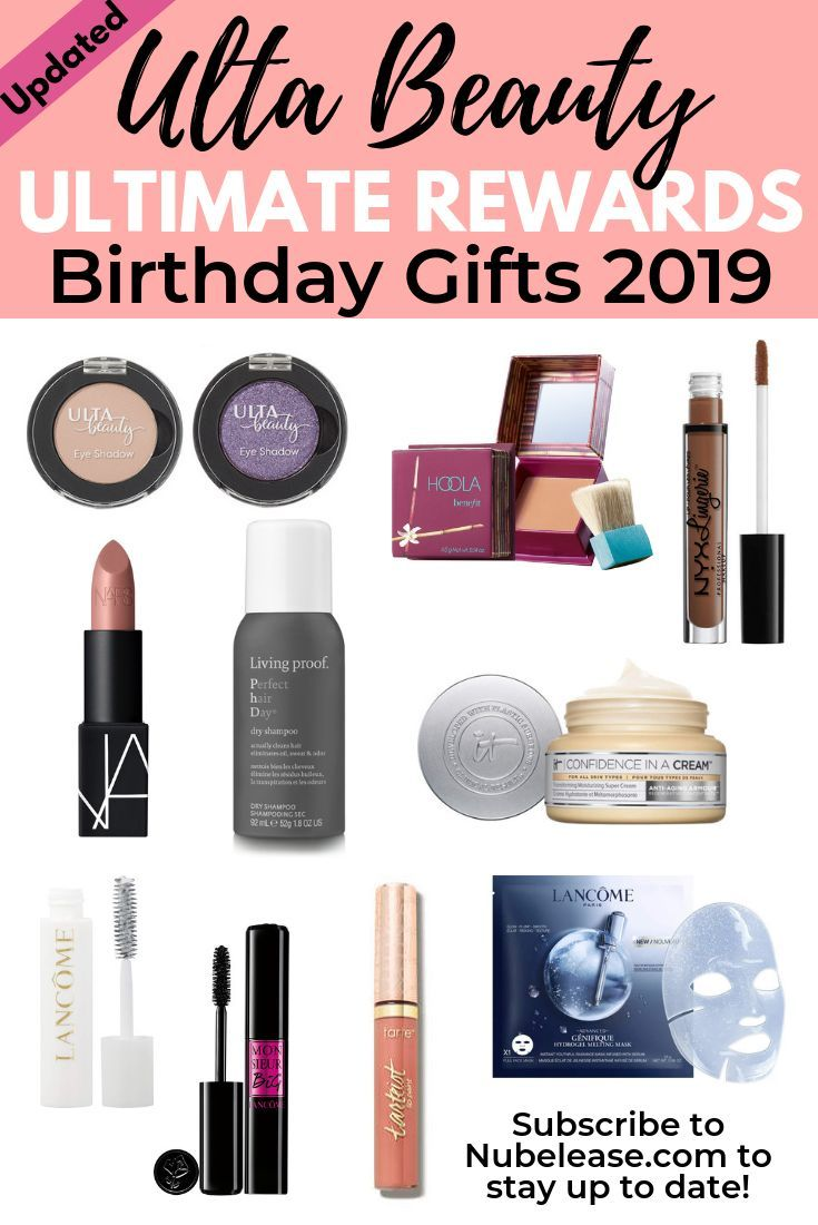 Your Free Ulta Beauty Birthday Gift 2019 by Month Best