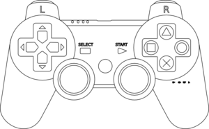 ps 3 controller template i may try to make a customised sticker