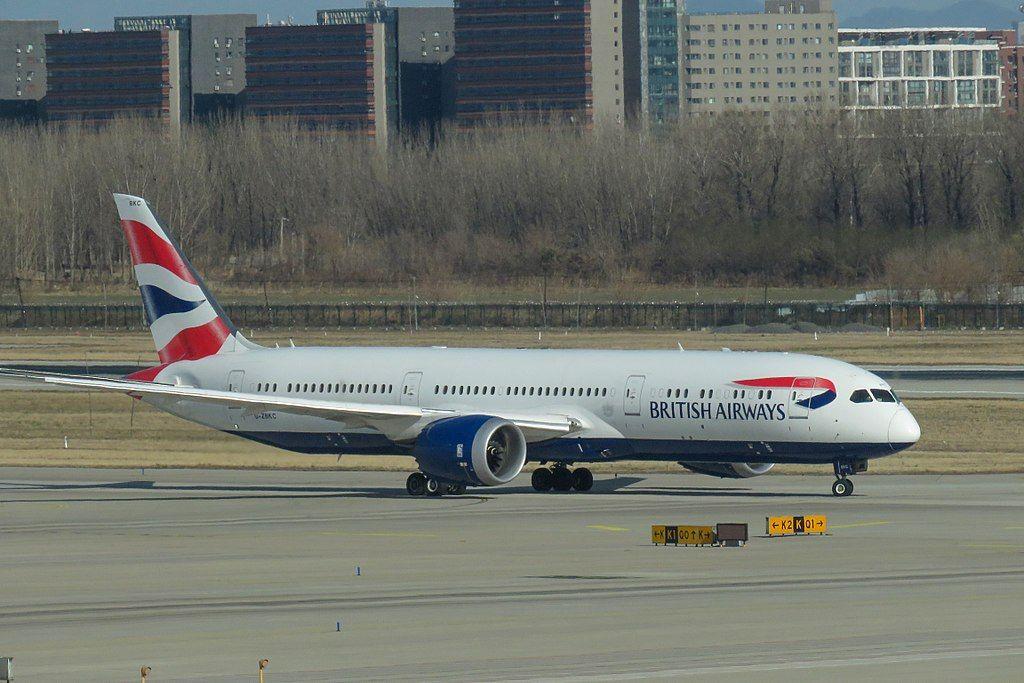 British Airways Fleet Boeing 7879 Dreamliner Details and