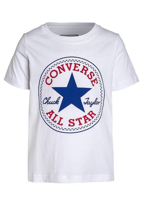 Converse CHUCK PATCH - T-Shirt print - white für 17,95 € (06.03.17) versandkostenfrei bei Zalando bestellen.
