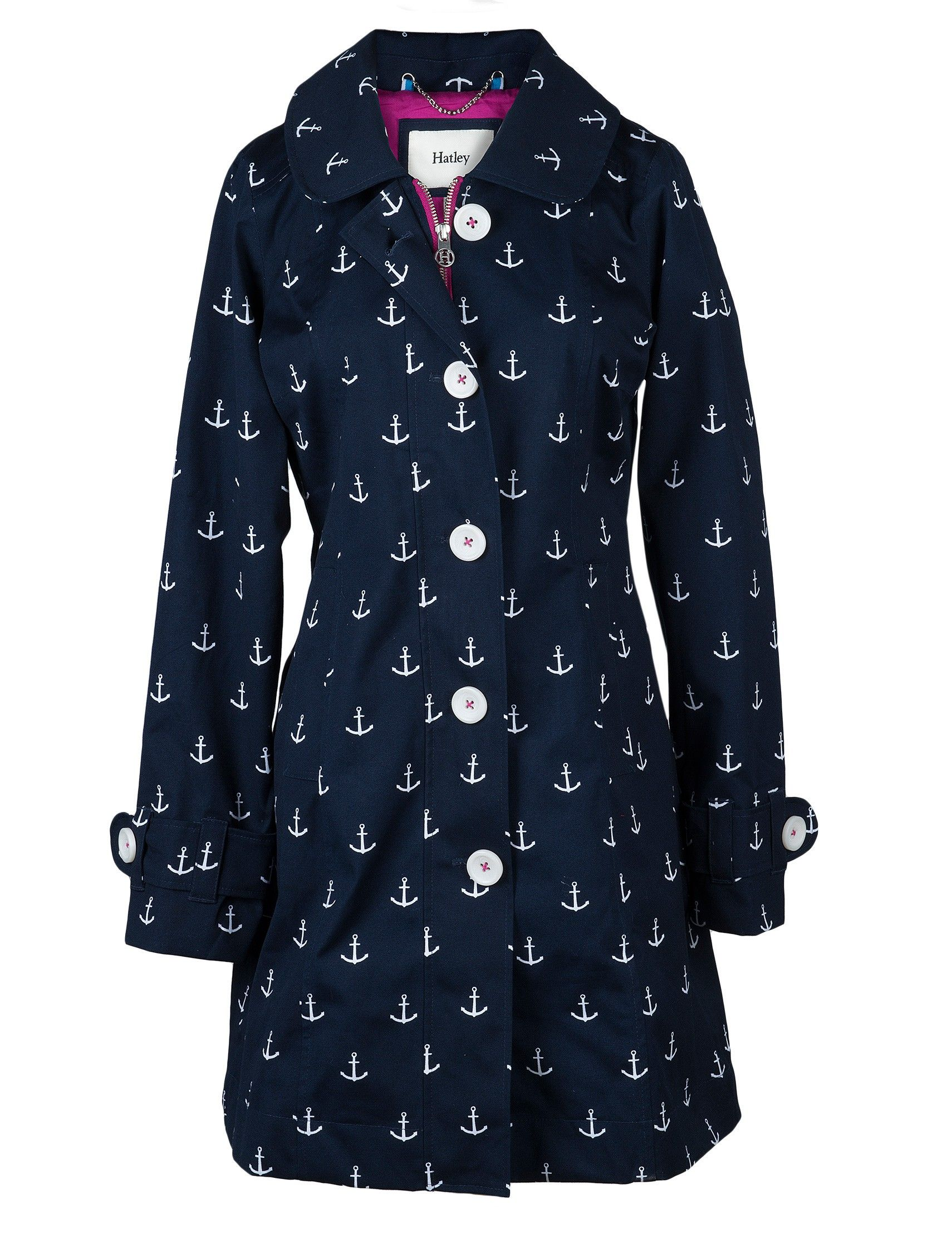 ea664741b8179 Anchor Rain Jacket from Hatley. I would NEVER spend this much on a  raincoat. But it's just so pretty, I could only hope I'd get some crazy  discount haha