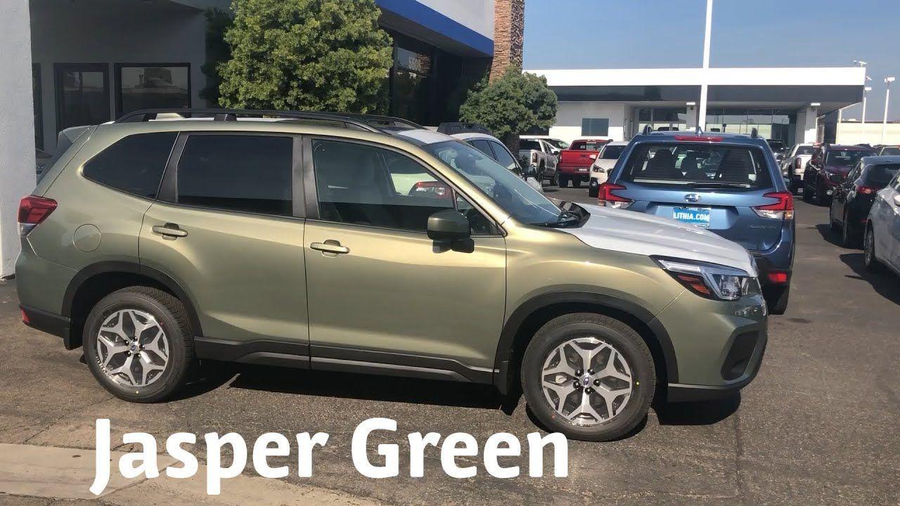 2020 Subaru Forester Jasmine Green First Drive V 2020 G Subaru Avtomobil