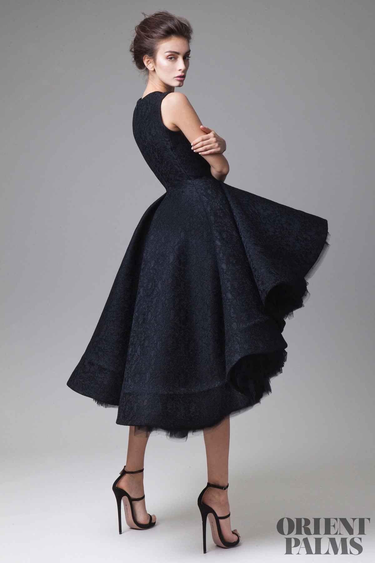 schwarzes kleid zur hochzeit
