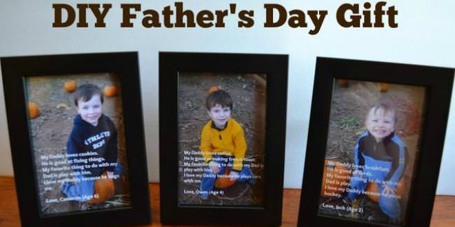DIY Father's Day Gift from @eastcoastmommy