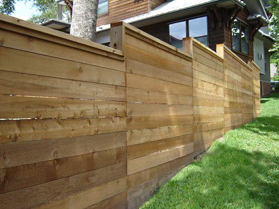 Wood Fences Gallery Viking Fence Wood Fence Fence Design Backyard Fences