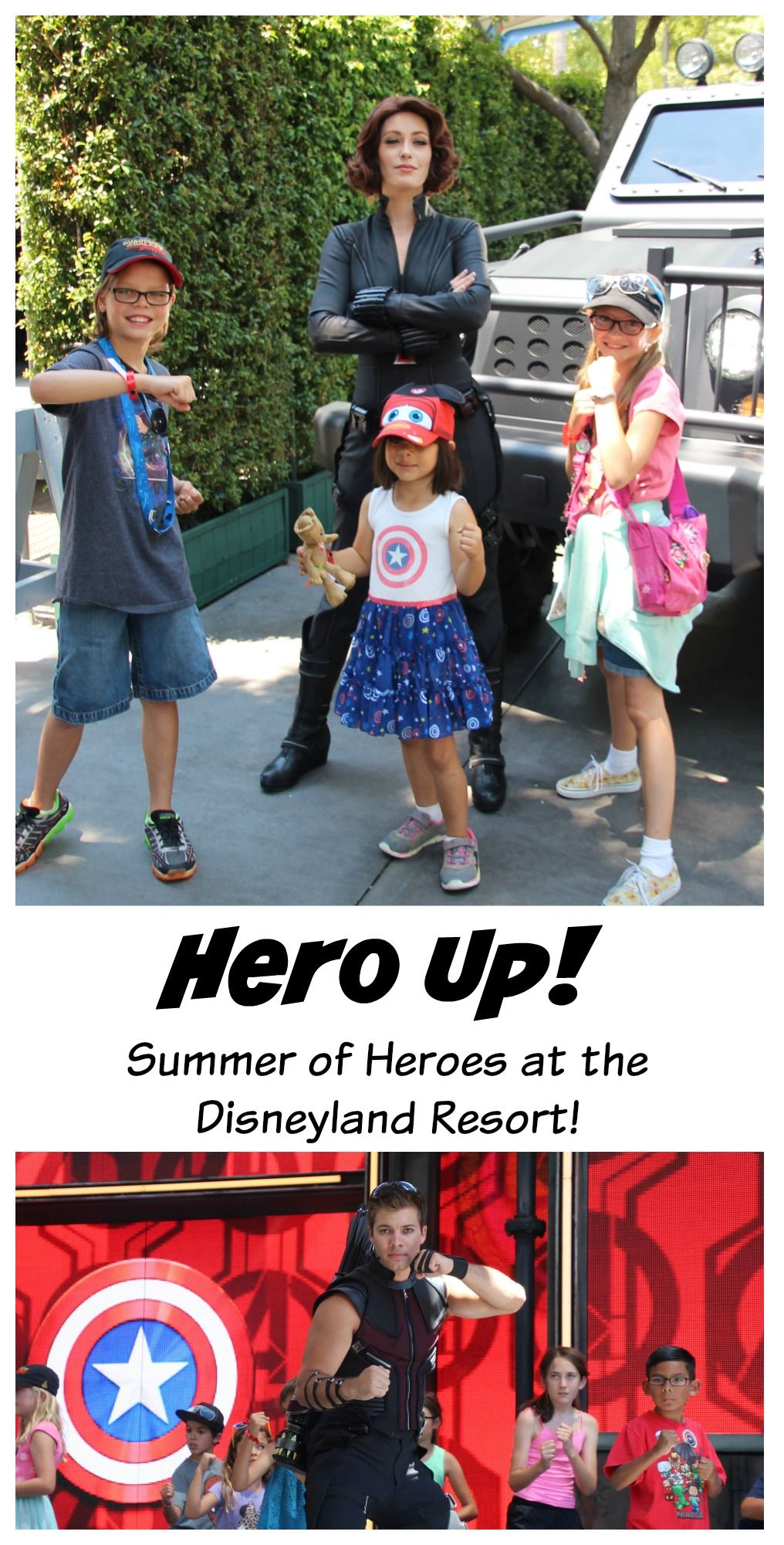 ( ad ) Hero up at Disney California Park!  Disneyland Resort is celebrating Summer of Heroes.  Meet and greet with Groot, Black Widow, Spiderman, and more!  Ride Guardians of the Galaxy Mission Breakout and eat delicious Disney and Marvel themed treats!