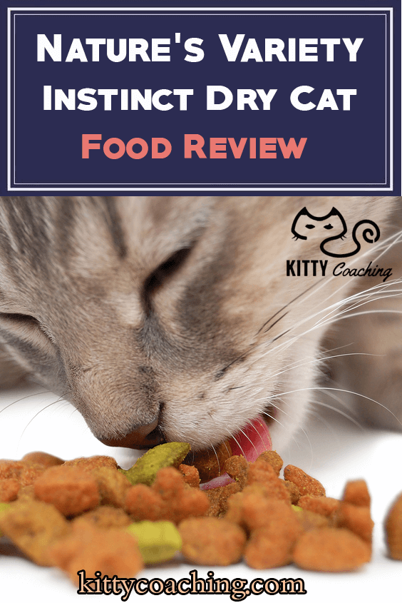 Nature's Variety Instinct Dry Cat Food Cat food reviews
