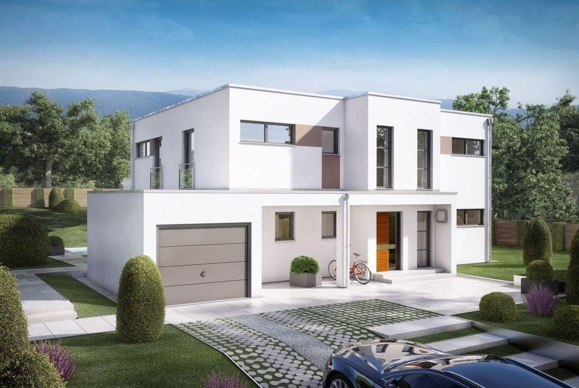 Aussenansicht Eingang | Grundriss | Pinterest | Modern house design ...