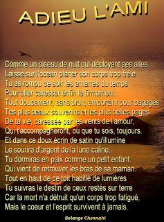 Poème Pour Ami Décédé Poème Damitié Poeme Amitié