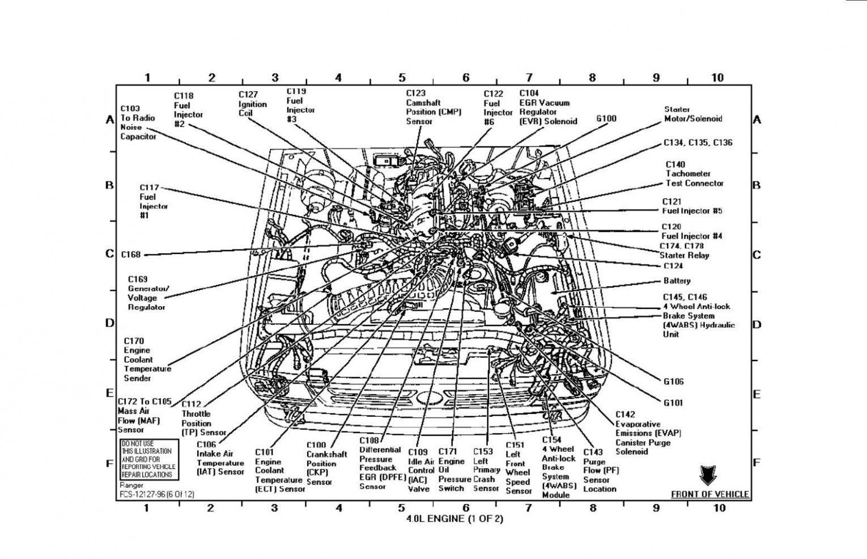 Engine Wiring Diagram For 7 Ford Ranger Diesel In 2020 Ford Ranger Ford Explorer Ford Ranger Raptor