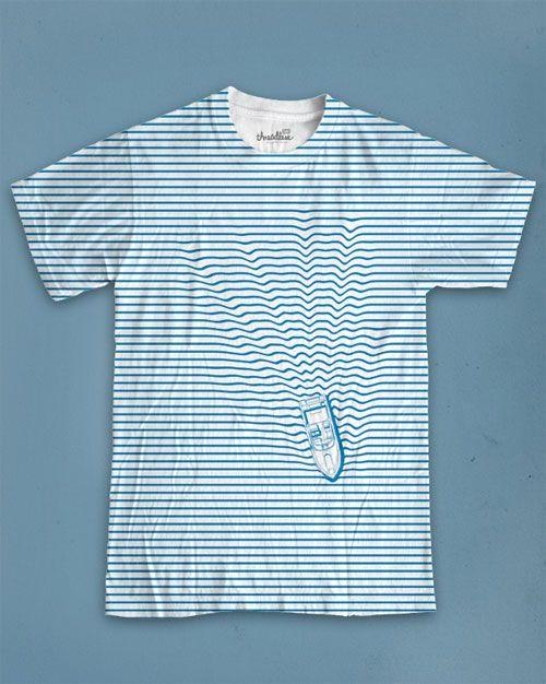 Shirt waves.