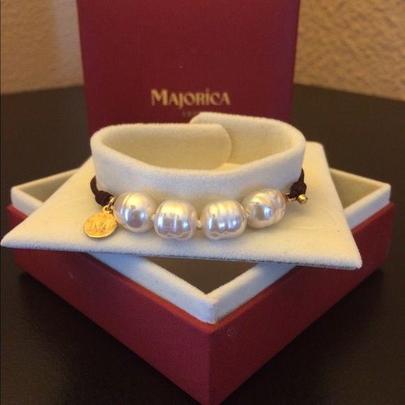 Majorica 8mm Baroque Pearl Bracelet YcJ7Eu